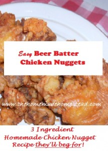 Beer Batter Chicken Nuggets Bisquick RecipeA