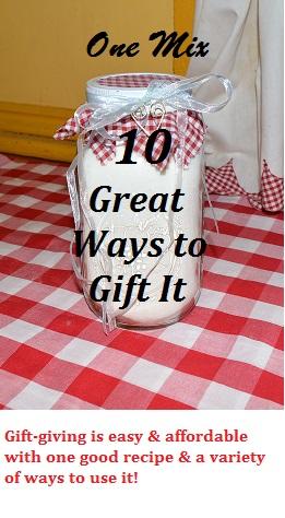 10 Ways to Gift Mason Jar Baking Mix